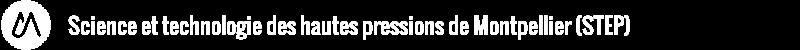 Science et technologie des hautes pressions de Montpellier (STEP) Logo